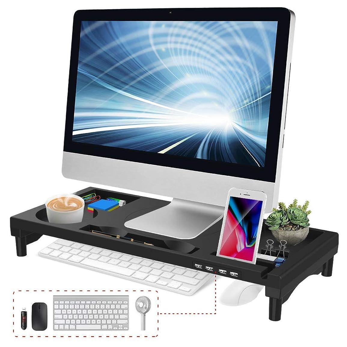 虫馬力フィドルAmazonベーシック モニタースタンド LCD 高さ調節
