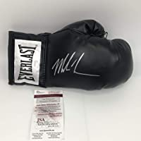 $134 » Autographed/Signed Mike Tyson Black Everlast Boxing Glove JSA COA