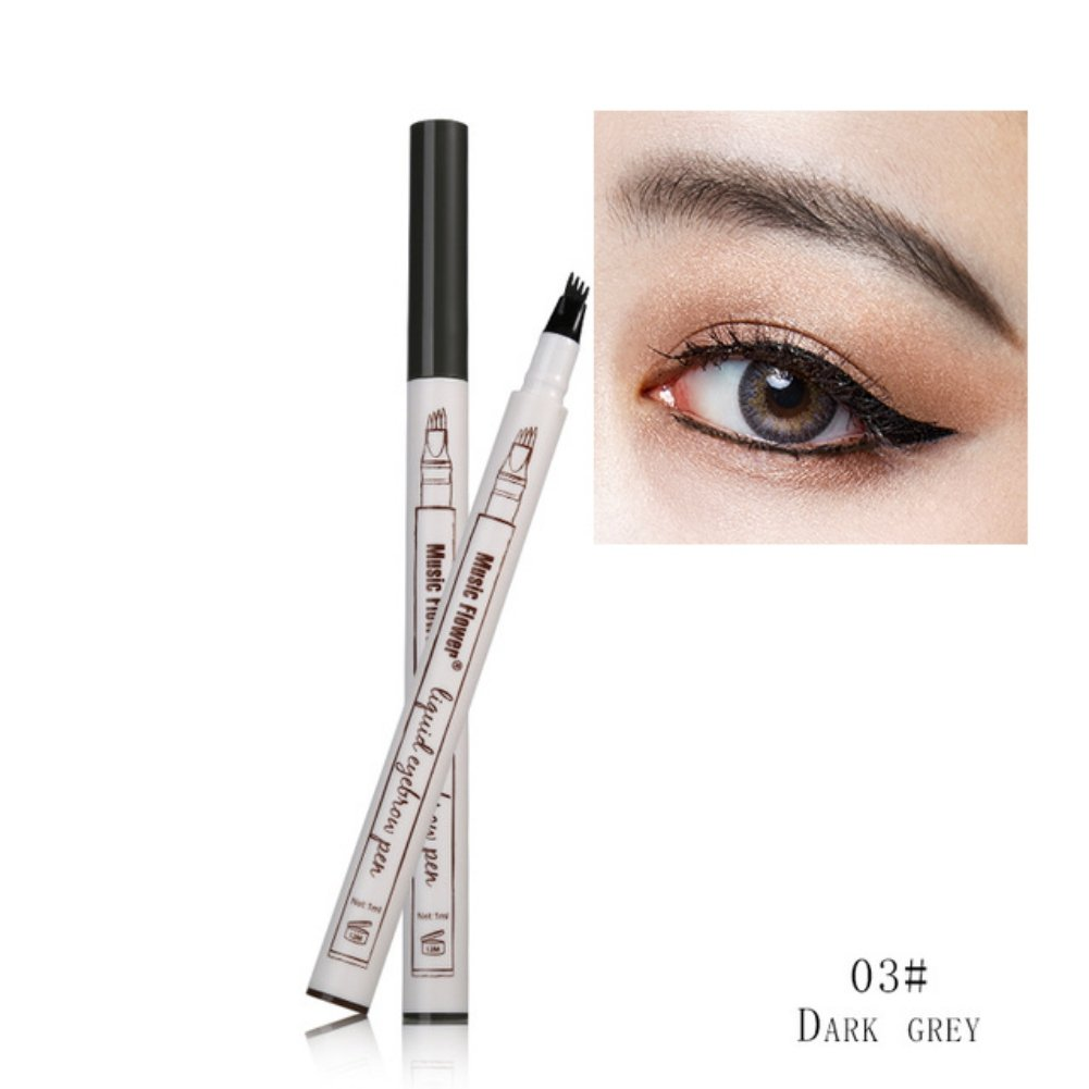 Amazon New Makeup Long Lasting Eyebrow Pen Tattoo Sketch Super