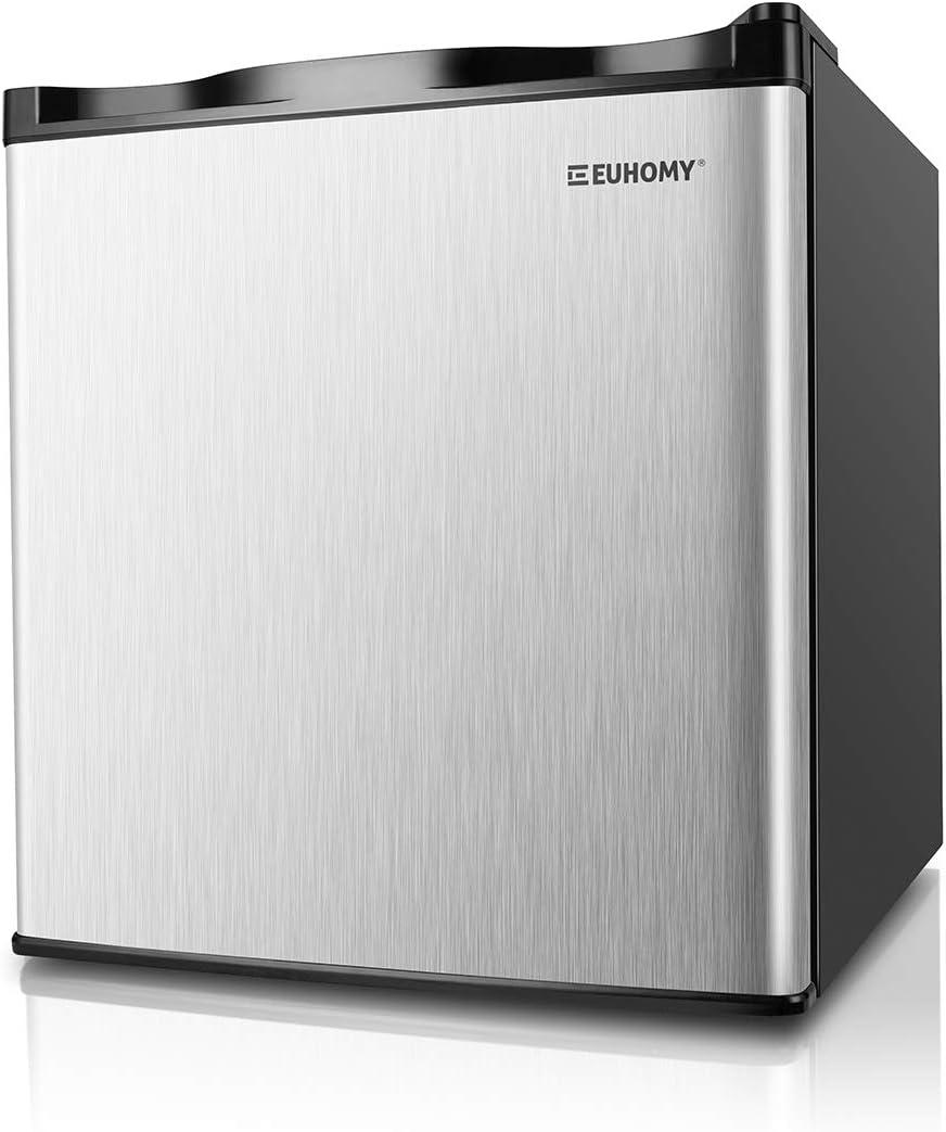 Euhomy Mini congelador, Energy Star 1.1 pies cúbicos de una sola ...