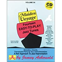 Vol 54 Maiden Voyage Fourteen EasyToPlay Jazz Tunes Book Amp CD Set Jamey Aebersold PlayALong Series Buy MP3 Music Files