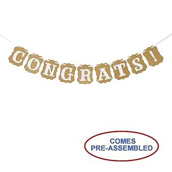 amazon congrats banner congratulations sign graduation banner
