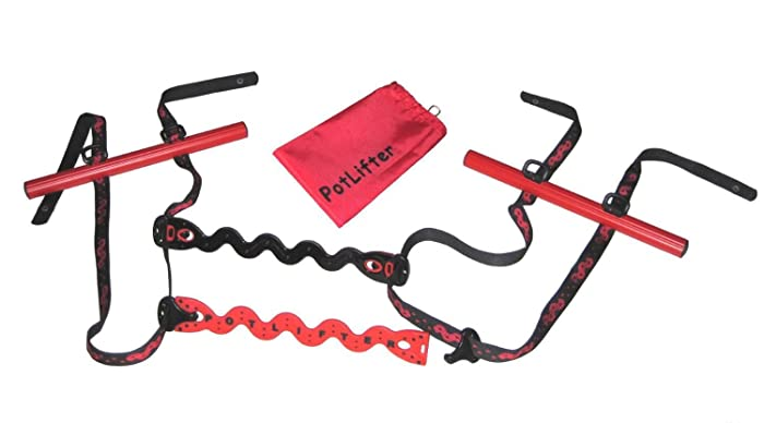 PotLifter - A Gardening Lifting Tool For Heavy Plant Pots and Flower Pots - Easily Lift/Carry Heavy Objects Around Your Yard - Equipment Making Lifting Easy, the Ultimate Garden Helper - 200lbs