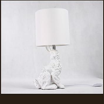 Nordic American Einfache Tier Schlafzimmer Nachttisch Lampe Kreative