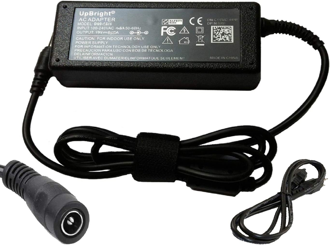 UpBright AC//DC Adapter Replacement for in Seat Solutions 15070 SMG1385000H Golden Tech Lift Recline Chair HV3002-2 HV30022 PR355 PR401 PR508 PR710 PR722 PR747 PR751 PR756 PR355 PR200 PR505 PR630 PSU