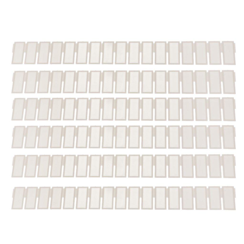 6pcs Organizador Almacenaje Cuadrícula Cajón Divisor Plástico para Hogar Bricolaje Generic STK0153009332