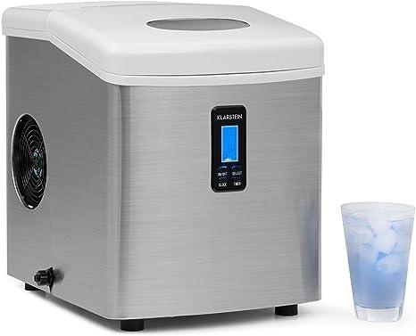 Klarstein Mr.Silver-Frost - Máquina para hacer hielo, color ...