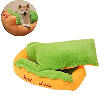 Amazon.com: Aqueous cama para perro, gato o gato, cojín con ...