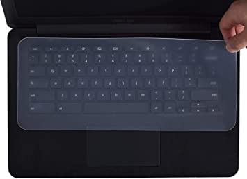 Goliton Protector de silicona universal para teclado para laptops, portátiles, netbooks, 11.1