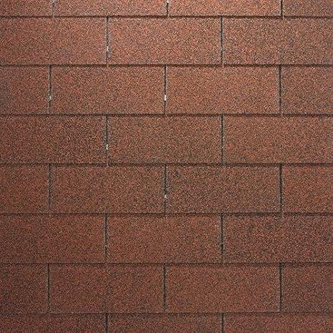 Bitumenschindeln Dachschindeln Biber Schindel Dachpappe Bitumen Glasvlies gr/ün gefl 3,05 m/²