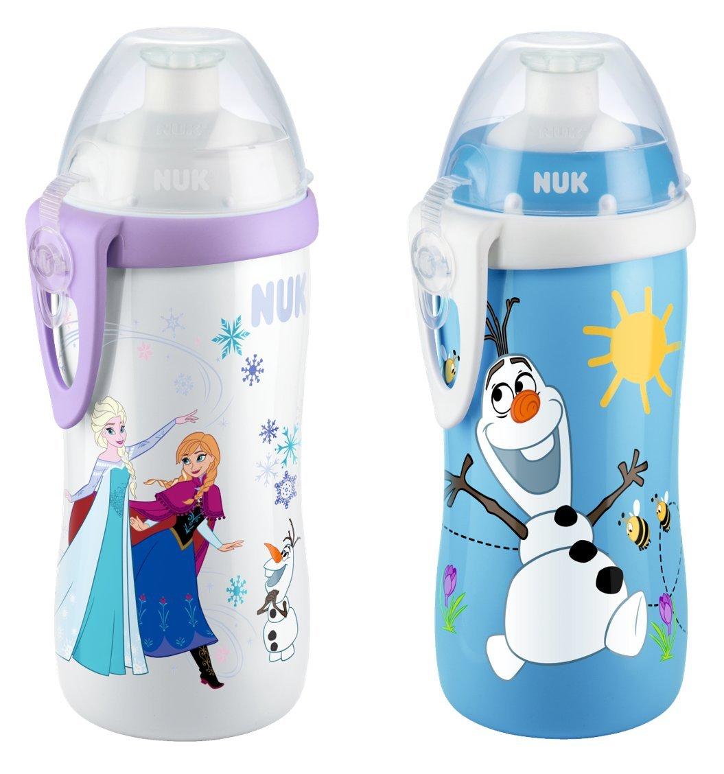 NUK Junior Cup - Botella, diseñ o Frozen, 300 ML, para 36-72 Meses diseño Frozen 10255310