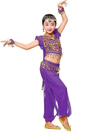 Grouptap Bollywood Indio 2 Piezas niños niñas bharatanatyam ...