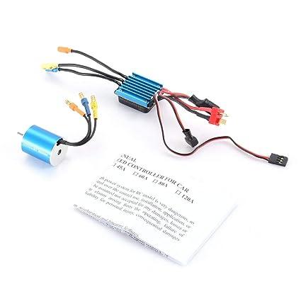 7200KV 4P 2430 7200KV Sensorless Brushless Motor with 25A