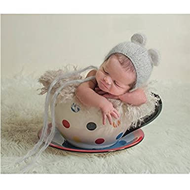 Fashion newborn boy girl baby costume outfits photography props cute hat