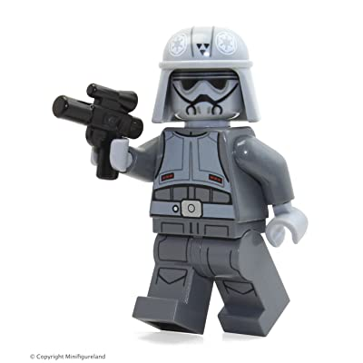 LEGO Star Wars MiniFigure - Imperial Combat Driver (with Blaster) 75141: Toys & Games
