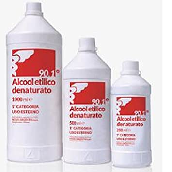 Amazon.com: Alcohol etílico denaturato500ml: Health ...