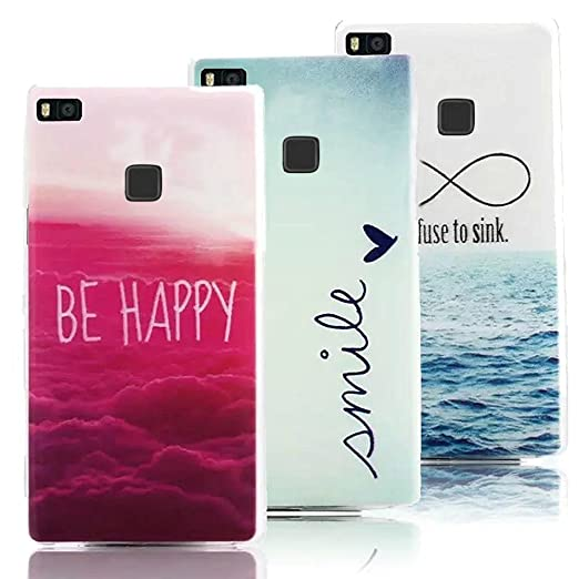 17 opinioni per 3 X Huawei P9 Lite Case Cover in Soft Silicone, Vandot Moda Creativo Ultra