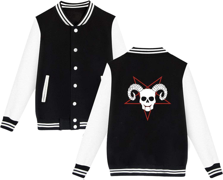 swimstore Satan Cartoon Evil Baseball Jacket Plus Size Men//Women Sweatshirt Winter Hoodies Tracksuit
