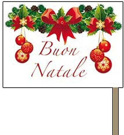 Buon Natale Italia.Givi Italia Bandierine Buon Natale Per Aperitivo 50 Pz Amazon It Casa E Cucina