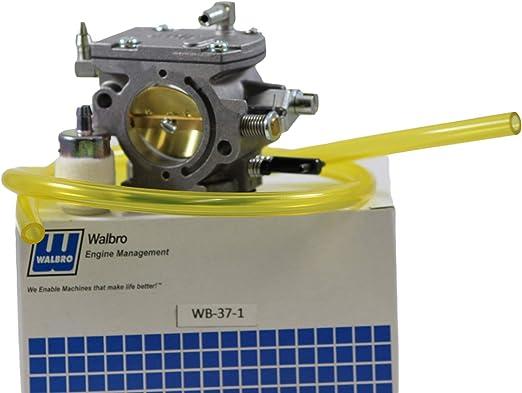 Walbro Wb 37 1 Vergaser Oem Combo Vergaser Fuel Line Kraftstofffilter Boom Garten