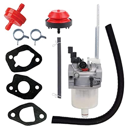 hifrom replacement carburetor primer bulb fuel filter line with gasket for  ariens 20001368 20001027 mcculloh 436565