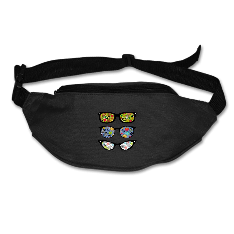 SEVTNY Waist Bag Retro-sunglasses Fanny Pack Stealth Travel bum Bags Running Pocket For Men Women