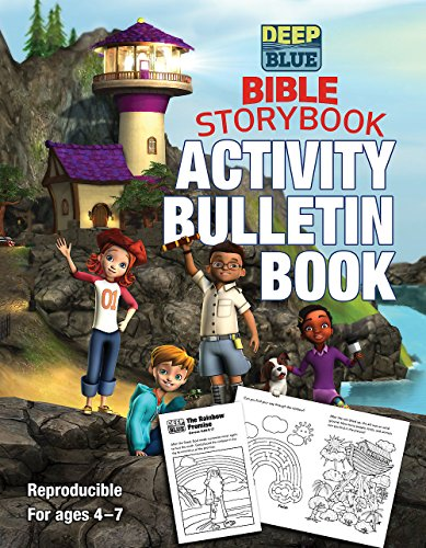 Deep Blue Bible Storybook Activity Bulletin Book