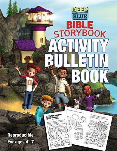 Deep Blue Bible Storybook Activity Bulletin Book