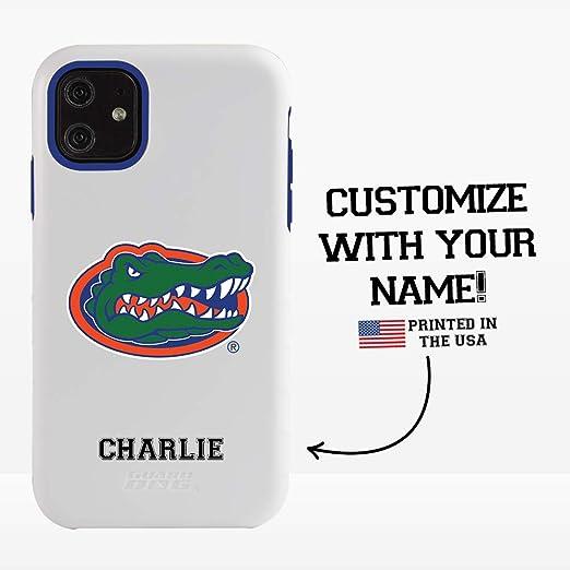 Guard Dog Collegiate Hybrid Case for iPhone 11 – Personalized – Florida Gators – White