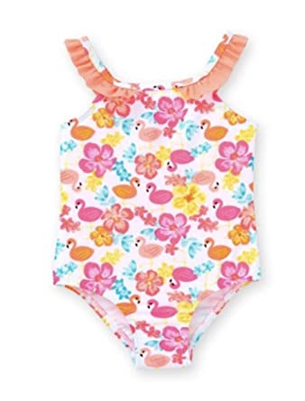 Amazon Com Healthtex Baby Girl Flamingo Print One Piece Swimsuit