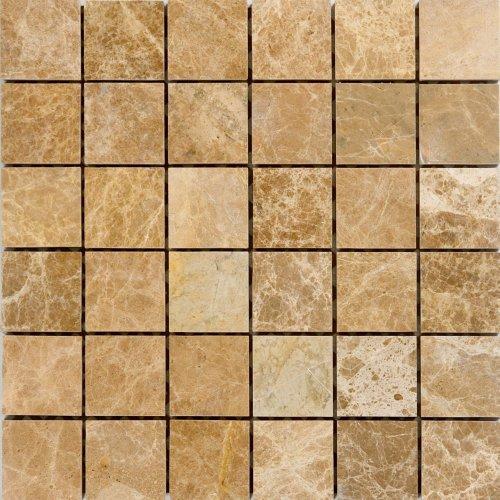 Epoch Tile EL2X2 2x2 Emperador Light Pol/Tumbled Marble