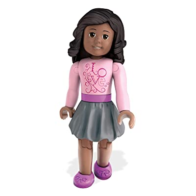 Mega Construx American Girl Series 1 Lovely Sweater Mini Figure: Toys & Games
