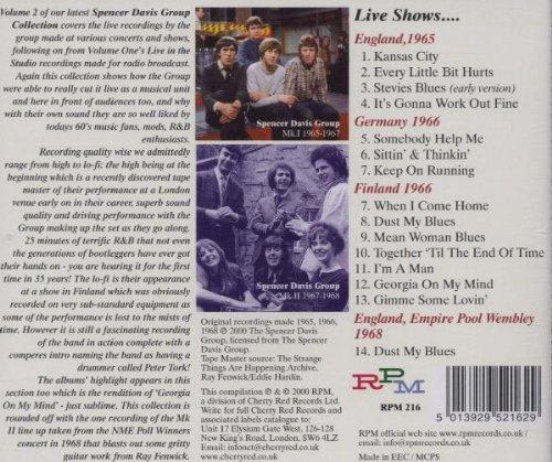 Mojo Rhythms & Midnight Blues, Vol. 2: Live 1965-1968