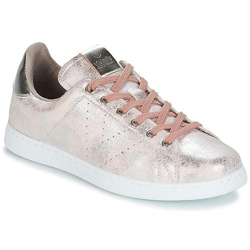 Victoria Tenis Metalizado, Zapatillas para Mujer: Amazon.es: Zapatos y complementos