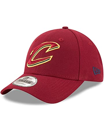 A NEW ERA Gorra 9Forty NBA Cleveland Cavaliers The League Granate Amarillo 22d129253b3