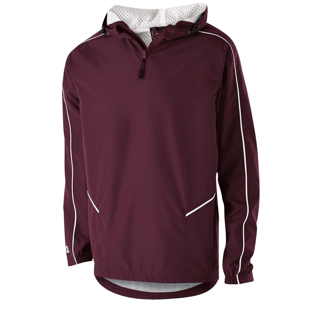 Holloway Wizard Adult Pullover (XXX-Large, Maroon/White) by Holloway
