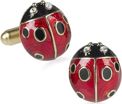 Ladybug Cufflinks