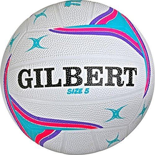 Gilbert APT Netball Sports Outdoor Match Playing Training Ball Size 4-5 Only Sportsgear