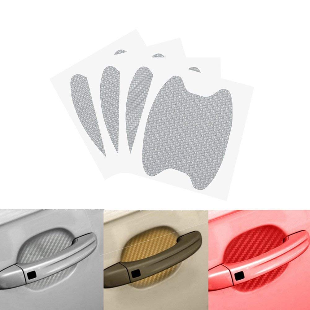 Vehicle SUV Van Marsauto 8Pcs Car Door Handle Paint Scratch Protector Sticker Truck Scratch Cover Guard Protective Film for Any Car Pickup
