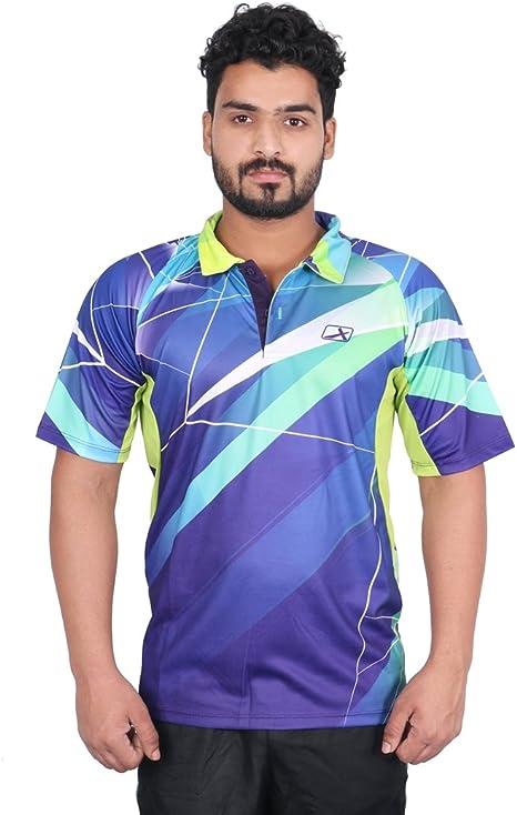 Vector X VRS-001 Sublimation T-Shirt (Multicolor) Men's Running T-Shirts at amazon