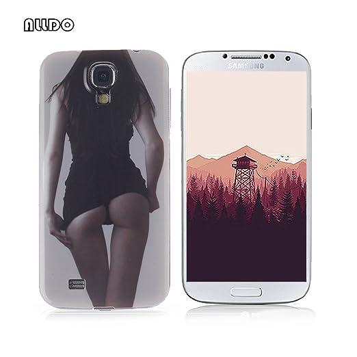 7 opinioni per AllDo Custodia in Silicone per Samsung Galaxy S4 i9500 Cover Gomma TPU Custodia