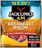Link Snacks Jack Link s A.M. Breakfast Bacon, Applewood Smoked, 2.5 Ounce