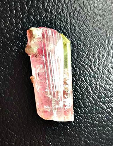 165ct Huge Bicolor Double Terminated Watermelon Tourmaline. Pink and Green Twinned Tourmaline Crystal Cluster w/ Rainbow Iris's (Tourmaline Terminated)