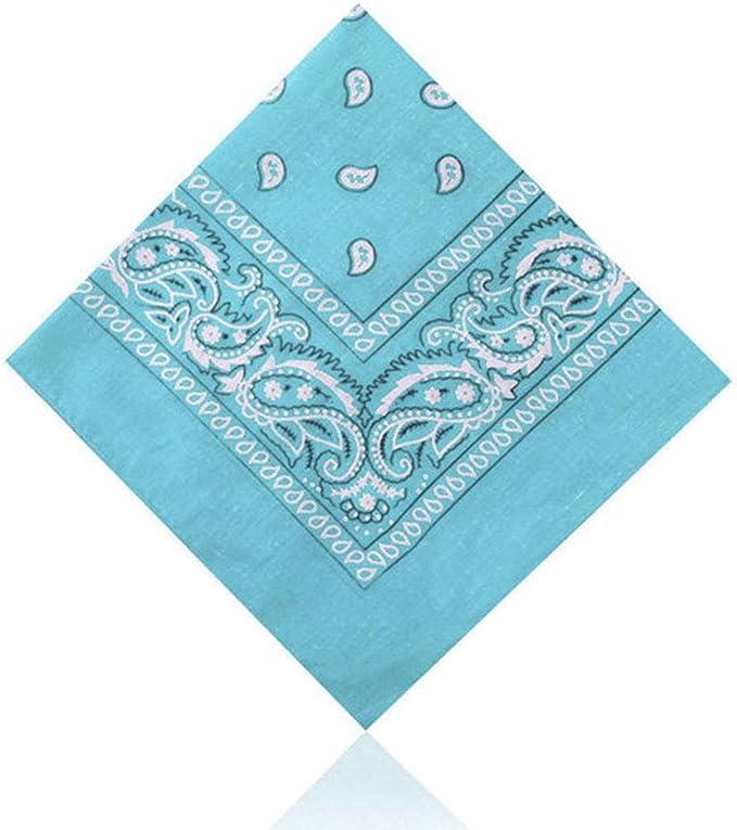 Farben Handtuch Kopftuch Haarband 100/% Baumwolle ABAV Paisley Bandana vers