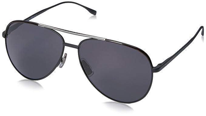 23660b3557 Amazon.com  BOSS by Hugo Boss Men s B0782S Aviator Sunglasses