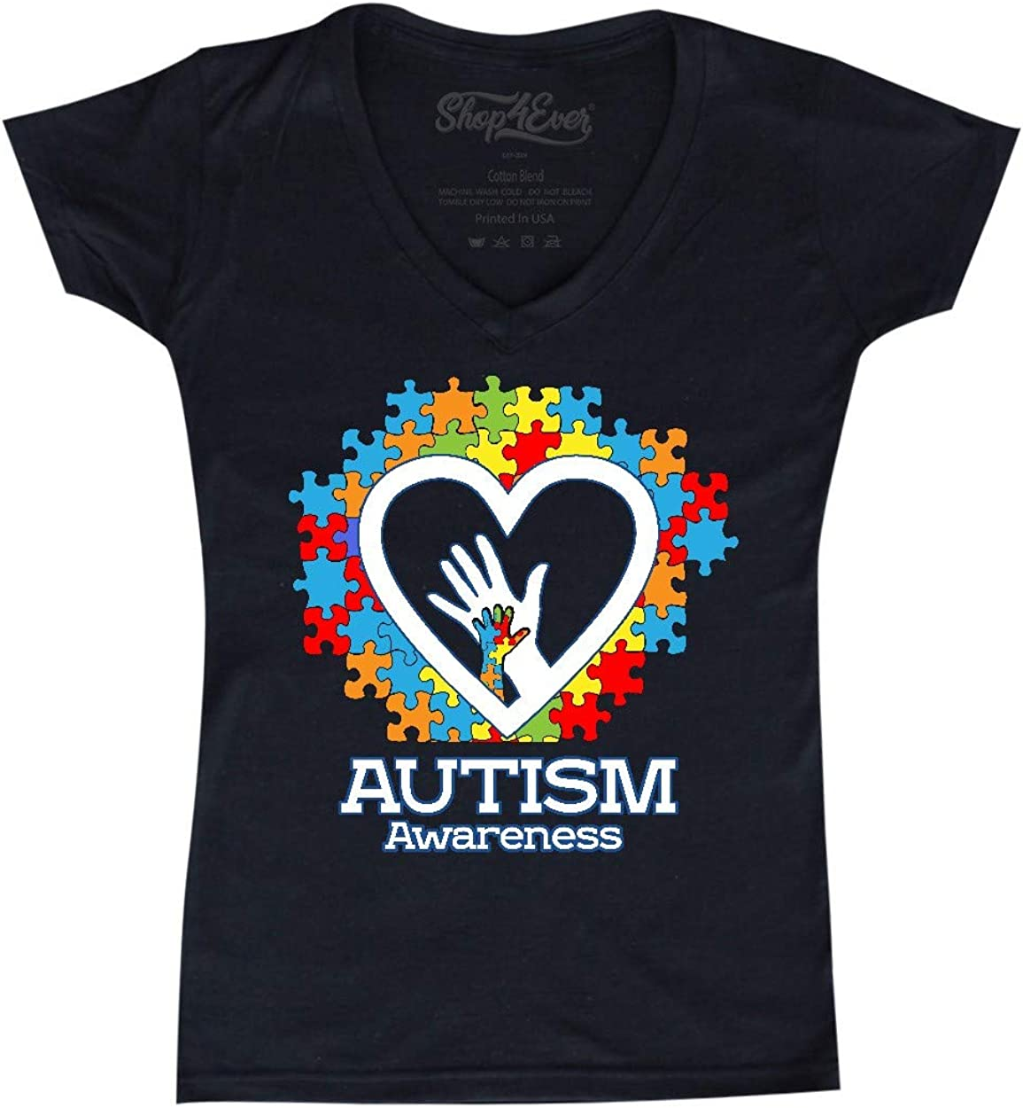 GSETW368 Autism Awareness Tee Boy Girl Infant Babys Jumpsuit for 0-24M