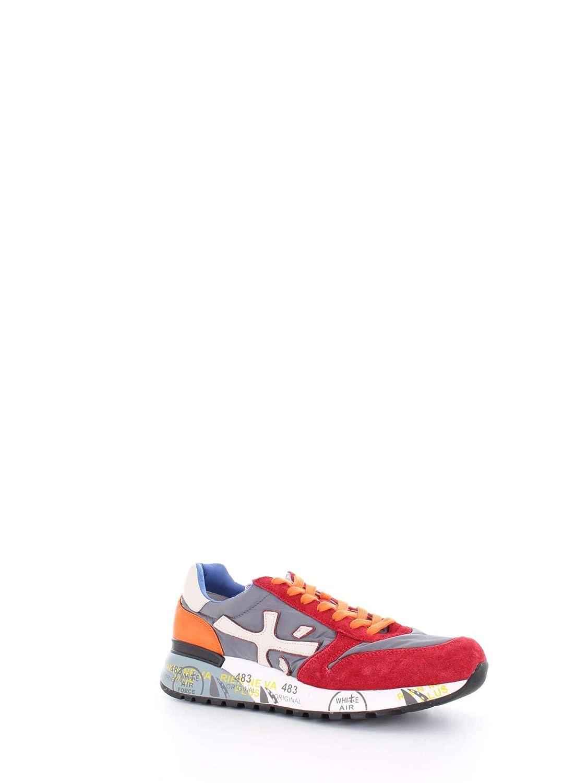 PREMIATA Mick 1281 Sneakers Uomo Grigio arncio Rosso 44