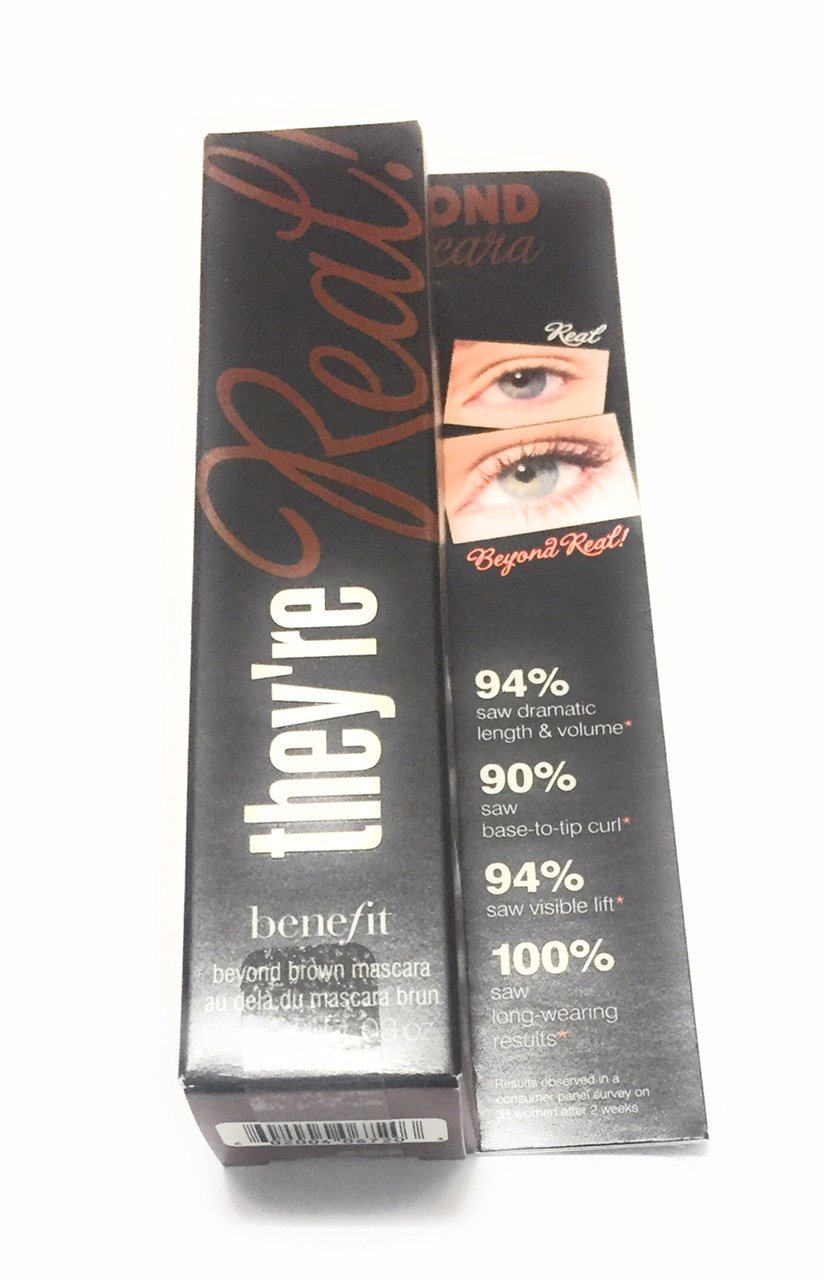 Benefit They're Real Beyond Mascara, Brown, 0.3 Ounce