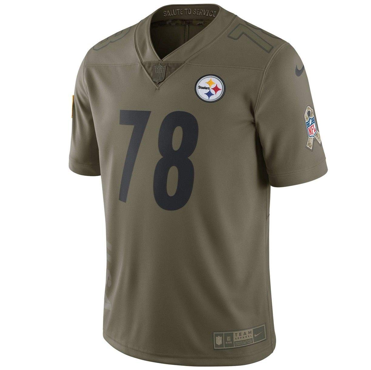 Amazon.com   Alejandro Villanueva Steelers 2017 NFL Limited Edition Salute  to Service Jersey (XXX-Large)   Sports   Outdoors 769a188b3