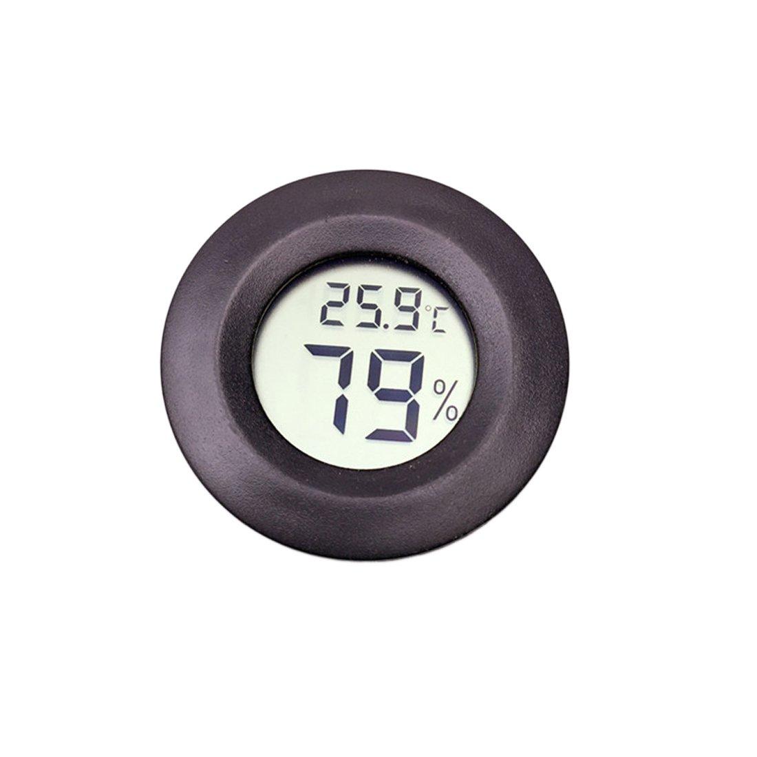 Medidor de humedad para sonda de temperatura con sensor de higr/ómetro term/ómetro digital para mascotas